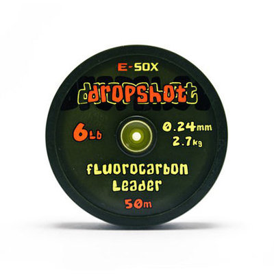 E-Sox Dropshot Fluorocarbon Leader