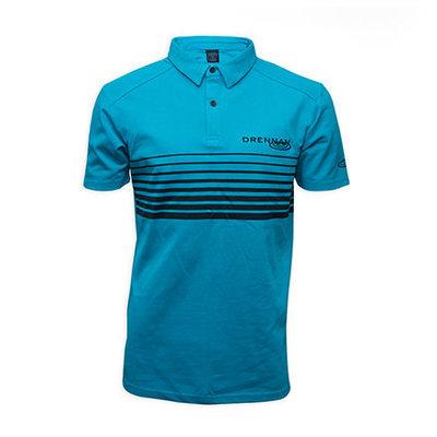 Drennan Aqua Polo Shirt New