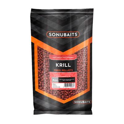 Sonubaits Krill Voer/Vis Pellets Drilled 8mm
