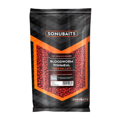 Sonubaits Bloodworm Fishmeal Feed Pellets 8mm