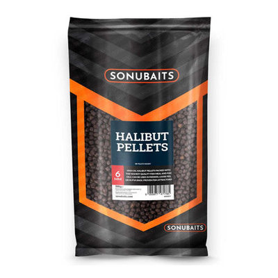 Sonubaits Halibut Pellets 6mm