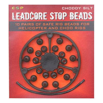 ESP Leadcore Stop Beads Choddy Silt