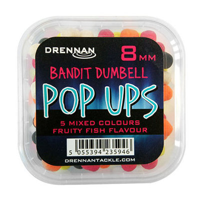 Drennan Bandit Dumbell Pop Ups 8 & 10 mm