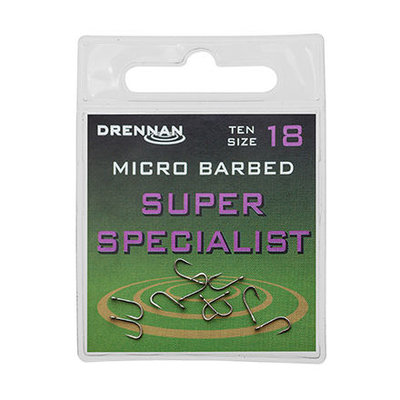 Drennan Super Specialist Micro Barbed