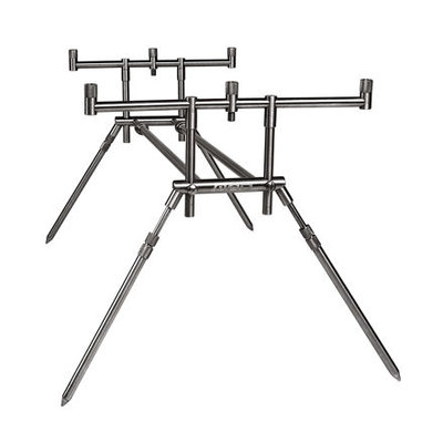 Mad 3 Rods Compact Stainless Steel Rod Pod