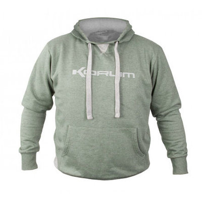 Korum Heather Green Hoodie