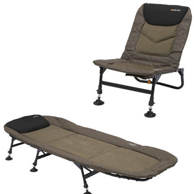 Prologic Commander T-Lite Chair & Bed Combo