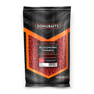 Sonubaits Bloodworm Fishmeal Feed Pellets 6mm